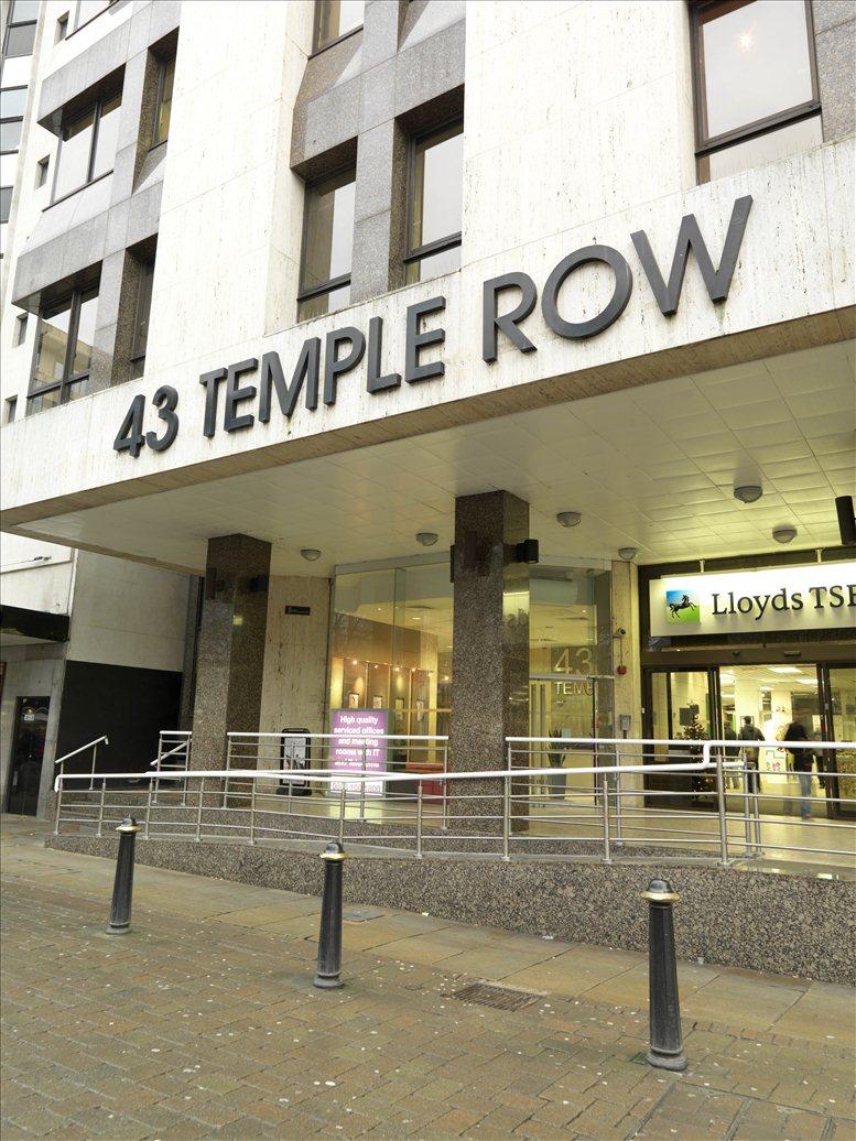 Temple Row, Birmingham Central, B2 5LS