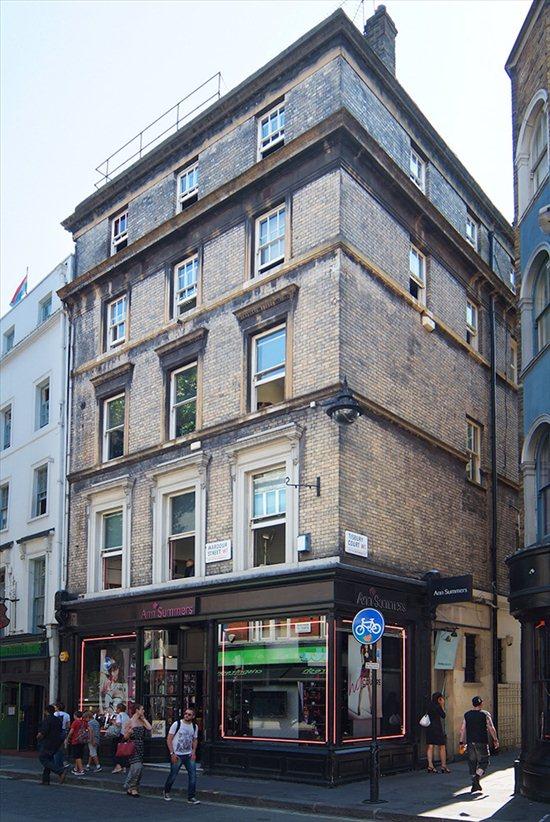 Wardour Street, Oxford Circus, Oxford Circus, W1D 6QB