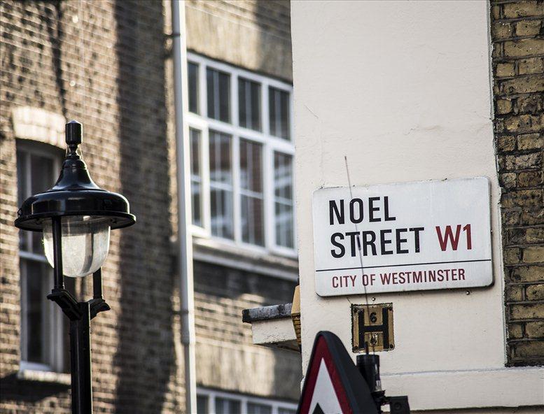 Noel Street, Oxford Circus, Oxford Circus, W1F 8GW