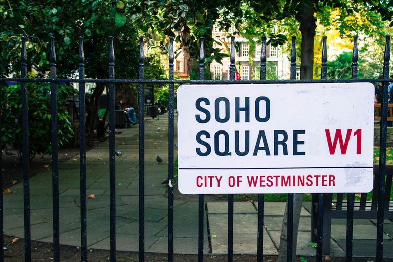 Soho Square, Oxford Circus, W1D 3QY