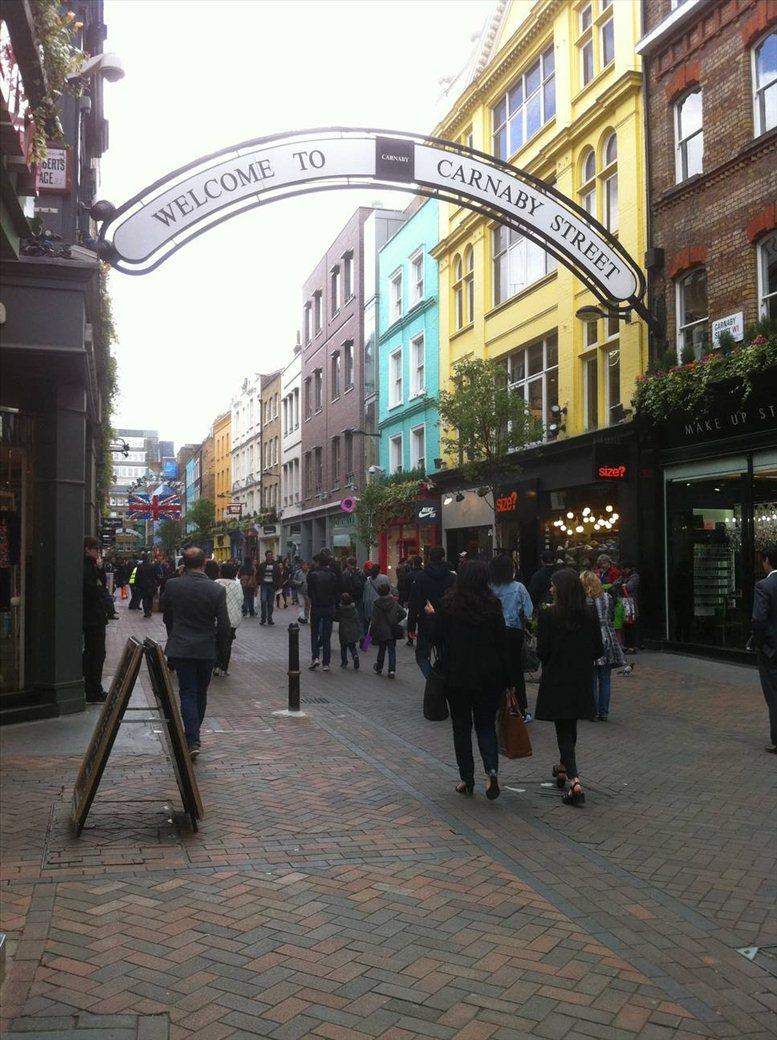 Foubert's Place, Oxford Circus, W1F 7QF